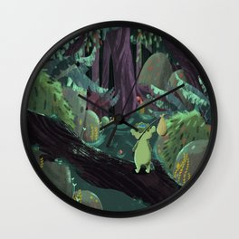 where is home? Wall Clock