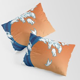 Llama Waves Pillow Sham