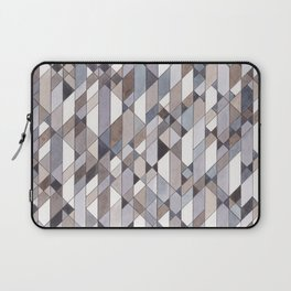 Triangle Pattern no.22 grays Laptop Sleeve