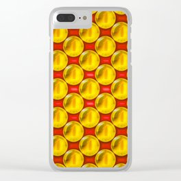 A penny saved is a penny earned ... Clear iPhone Case