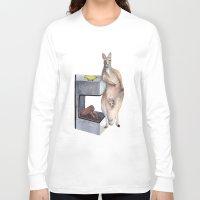 kangaroo Long Sleeve T-shirts featuring Kangaroo by Big AL