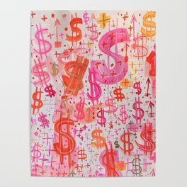 Barbie Money Poster