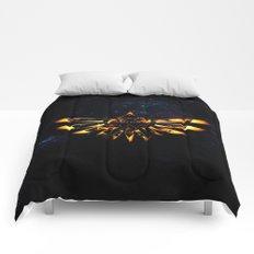 Zelda Triforce Red Flame Comforters