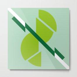 Abstract geometric shapes Metal Print