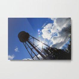 Edgefield Water Tower Metal Print
