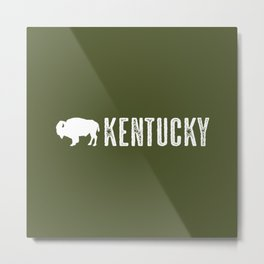 Bison: Kentucky Metal Print