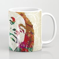 reggae Mugs featuring Reggae Music Man by Gary Grayson