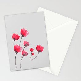 POPPIN' POPPIES  Stationery Cards
