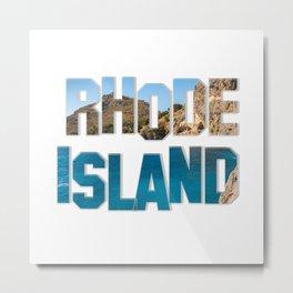 Rhode Island Metal Print