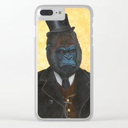 Ulysses K. Silverback Clear iPhone Case