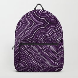 Abstract #9 - IX - Purple Backpack