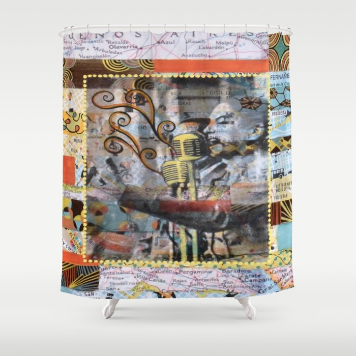 Evita Mia Shower Curtain