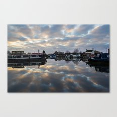 Dawn at West Stockwith Canvas Print