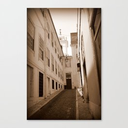 Side Streets in Portugal Canvas Print