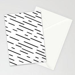 IT'S RAINING SIDEWAYS Stationery Cards