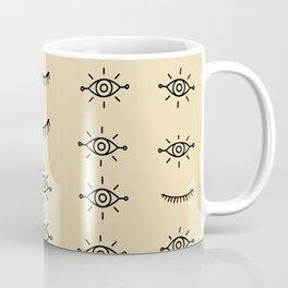 Tribal Eyes Coffee Mug