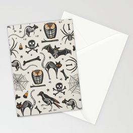 Halloween X-Ray Stationery Cards