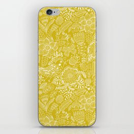 Yellow birds iPhone Skin