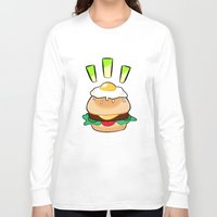 egg Long Sleeve T-shirts featuring EGG by grandsloop