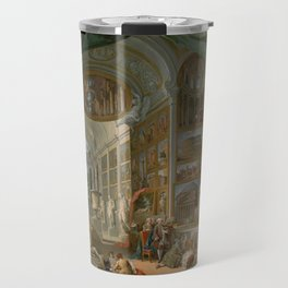 Ancient Rome by Giovanni Paolo Panini Travel Mug