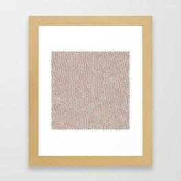 Angry Teddy Framed Art Print