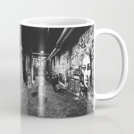 Seattle, Post Alley murals Coffee Mug