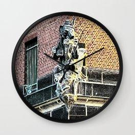 Never Trust A Fox II Wall Clock