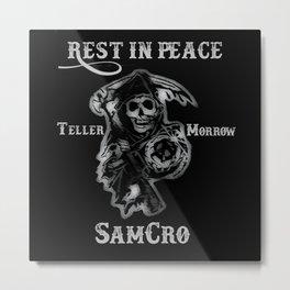 SamCro Metal Print