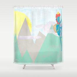 ESCALADA 01 Shower Curtain