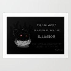 Devil bukuma Art Print