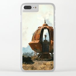 Outta This World Clear iPhone Case