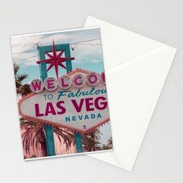 Retro Las Vegas Stationery Cards