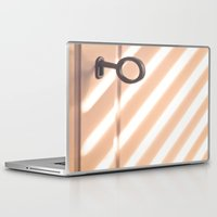shadow Laptop & iPad Skins featuring Shadow by Maite Pons