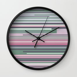 Into these colors Wall Clock
