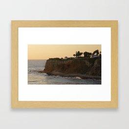 PV Lighthouse Framed Art Print