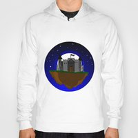 castle in the sky Hoodies featuring Castle in the Sky by AjDreamCraft