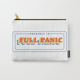 Full Panic - In Rainbow Carry-All Pouch