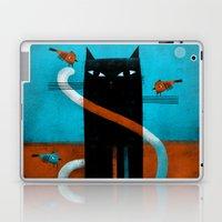OFFSET WHISKERS Laptop & iPad Skin