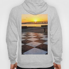 Checkerboard Sunset Hoody