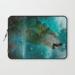 I'll See You In My Dreams (Cry of the Wolf) Laptop Sleeve