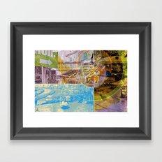 Collateral^2ndHand°FloodNewz Framed Art Print