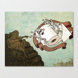 The Sistine Crapel Canvas Print