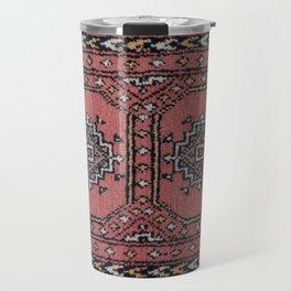 Traditional Rug - Pink Travel Mug