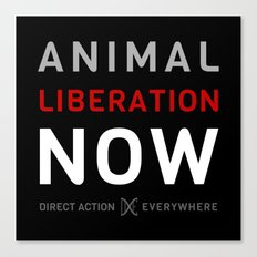 Liberation Now Canvas Print
