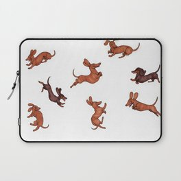 Wiener Doggies Laptop Sleeve