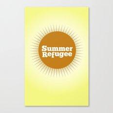 Summer Refugee Canvas Print