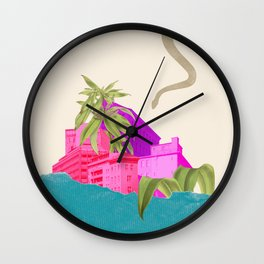 delusive hope Wall Clock
