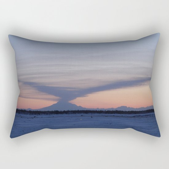 Ash in the Winds Rectangular Pillow
