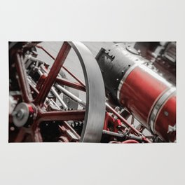 Miniature Traction Engine bywhacky Rug