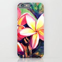 Sweet Plumeria iPhone Case